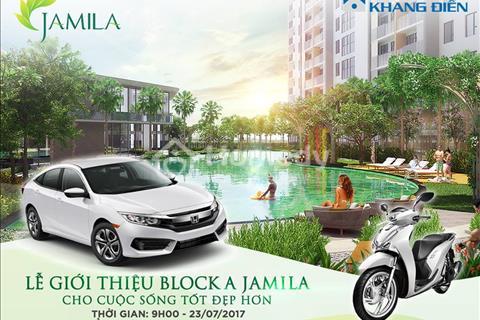 Bán căn hộ Jamila Khang Điền - Từ 1,7 tỷ hỗ trợ 70%, vay không lãi suất. Chiết khấu đến 10%