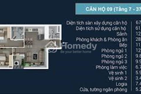 Bán căn hộ làm văn phòng FLC Star Tower, giá sốc, diện tích từ 100 đến 400 m2