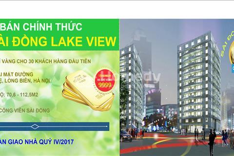 Tìm đâu ra căn hộ 18 triệu/m2 ful nội thất ở Sài Đồng Long Biên – Cách Aone Mall 1 km