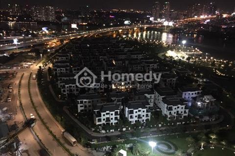 Cho thuê căn hộ 3 ngủ tòa Landmark 1 tầng cao view sông chỉ cần xách vali vào ở, bao phí