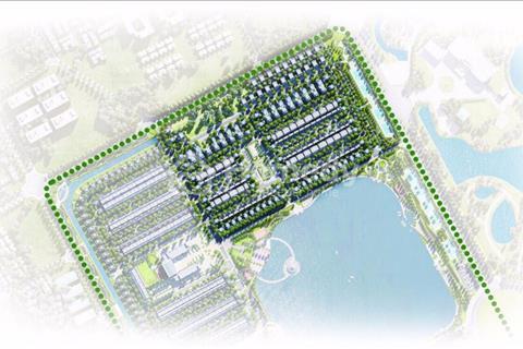 Bán song lập 185 m2 view vườn hoa 8000 m2 tại Vinhomes Riverside The Harmony không có vị trí thứ 2