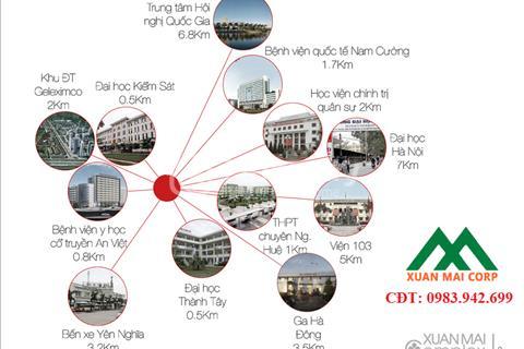 Chiết khấu ngay 3% khi mua chung cư Xuân Mai Complex, Dương Nội, Hà Đông