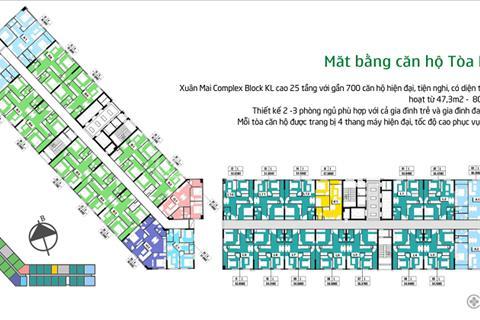 Phân phối trực tiếp từ chủ đầu tư căn hộ tại dự án Xuân Mai Complex