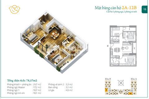 Chủ đầu tư Anland Nam Cường mở bán các căn đẹp nhất giá chỉ từ 1,4 tỷ. Chiết khấu 9%