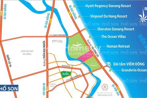 Đất ven biển gần tuyến đường biển 5 sao Đà nẵng,diện tích 100m, giá 450 triệu.