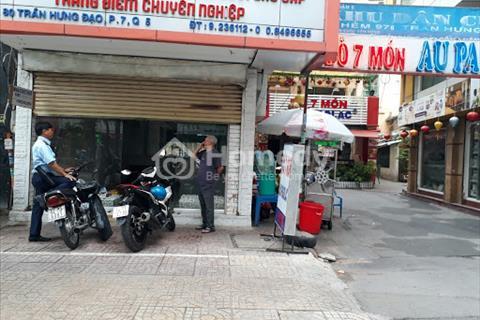 Cho thuê nhà 2 mặt tiền đường Trần Hưng Đạo, Phường 7, quận 5