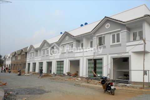 Bán nhà phố liền kề 1 trệt 1 lầu, sổ hồng riêng 75 m2, 650 triệu