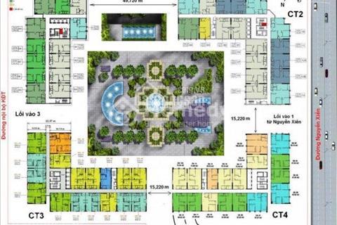 Chính chủ bán gấp chung cư Eco Green, CT3, tầng 18 - 16, diện tích 106,21 m2, giá 23 triệu/m2