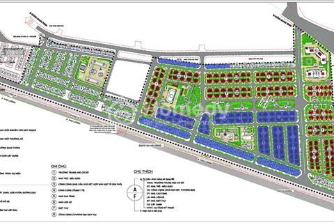 Trực tiếp phân phối 100 lô liền kề khu đô thị Phú Lương. Giá 32 triệu/m2