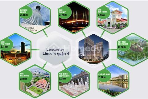 Căn hộ Lancaster Lincoln mở bán đợt 2: 165 căn, chiết khấu 6%, tặng 2 năm phí quản lý view sông