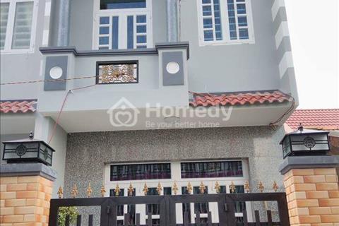 Chính chủ bán nhà sổ hồng riêng, mới xây đường Hương lộ 11, Hưng Long, Bình Chánh