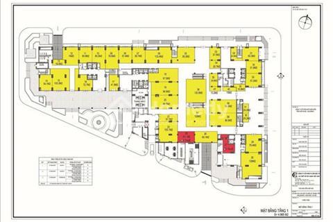 Bán trung tâm thương mại, chỉ từ 66 triệu/kiot, kinh doanh tốt (2,6 - 514 m2)