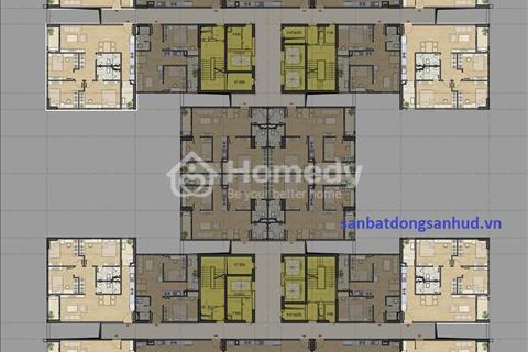 Bán căn hộ 1801 chung cư HUD3 Nguyễn Đức Cảnh, xuất ngoại giao bốc được giá tốt