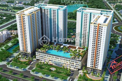 Cho thuê căn hộ Lexington block D tầng 20 view hồ bơi diện tích 73 m2 16,5 triệu/tháng