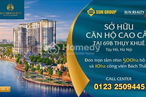 Sở hữu chung cư cao cấp view Hồ Tây của Sun Group