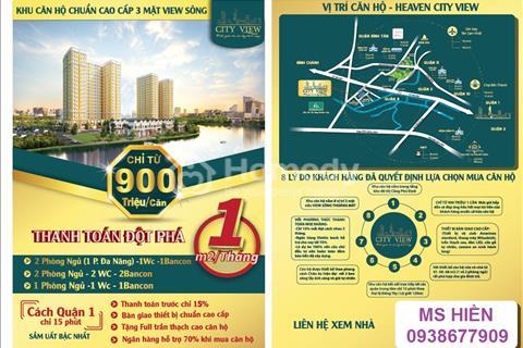 Heaven City View, căn hộ cho người thu nhập thấp 900 triệu/1 ngủ, 1,1tỷ/2 ngủ, sở hữu vĩnh viễn