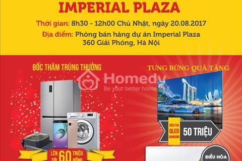 Hot! Hot!- Ngày 20/8 khai trương căn hộ mẫu tại 360 Giải Phóng, Tưng bừng quà tặng lên đến 150tr.