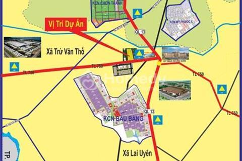 Bán đất khu đô thị Bàu Bàng, giáp mặt tiền Quốc lộ 13