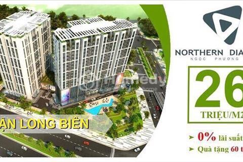 Bán căn hộ chung cư Northern diamond, đối diến Aeon mall, căn hộ 107m2, giá chỉ 28tr/m2