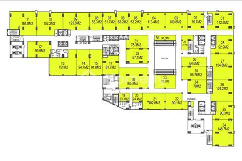 Bán ki-ốt trong Trung tâm Thương Mại chung cư Gemek (6 - 514 m2, từ 92 triệu) chiết khấu 5,5%