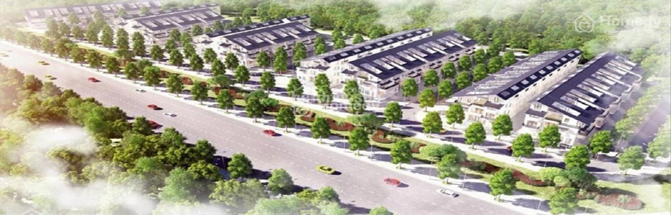 Khu biệt thự song lập SD 5 - Iris Homes - Khu đô thị Gamuda Gardens