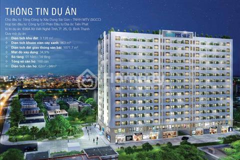 Bán căn hộ Soho Premier bàn giao tháng 10/2017, tặng gói nội thất 190 triệu, chiết khấu 1,5%