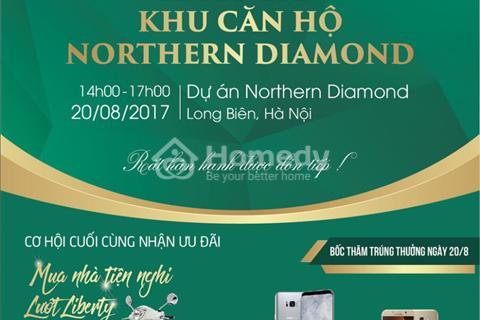 Chỉ còn 5 ngày cuối nhận chính sách ưu đãi của chủ đầu tư dự án Northern Diamond
