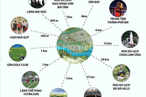 Đất nền khu đô thị sinh thái Nam Hòa Xuân, khu đô thị sinh thái Võ Chí Công nối dài!