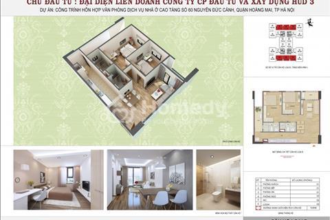 Bán căn hộ chung cư 1006 - H2 chung cư HUD3 Nguyễn Đức Cảnh 72 m2 chính chủ