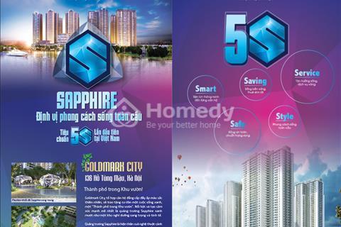 Bán căn 83 m2 tòa Sapphire 4 chung cư Goldmark City giá 2 tỷ, nhìn công viên