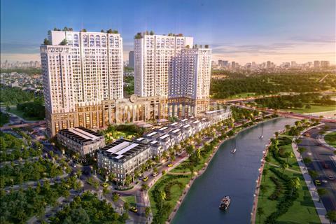 Bán căn hộ cạnh làng Việt Kiều Châu Âu S = 73,2 m2 giá 1,9 tỷ full nội thất cao cấp