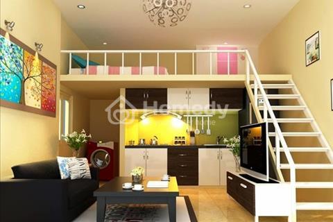 Căn hộ mini mặt tiền đường Lý Chiêu Hoàng, căn 32 m2/1 phòng ngủ/1 gác lửng