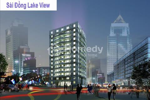 chính chủ căn 82.5m2, tại Sài Đồng Lake View, Miễn trung gian