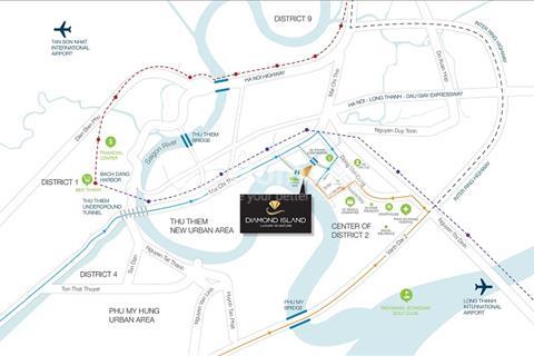 Đảo Kim Cương toà Brilliant, thanh toán 30% nhận nhà ngay, giá từ 55 triệu/m2