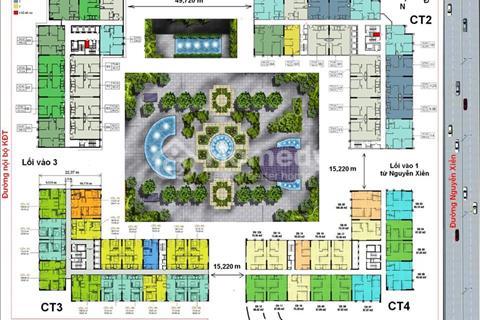 Bán lỗ căn tòa CT4 Eco Green, căn 1907 diện tích 94,87 m2, giá 22,5 triệu/ m2