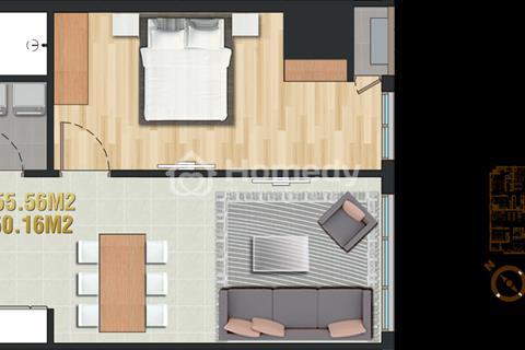 Căn hộ Pearl Plaza - 1 phòng ngủ view Quận 2 - Full nội thất - Giá 3,5 tỷ