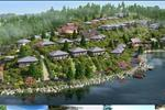 Được quy hoạch trên diện tích 11 ha, dự án gồm 200 căn biệt thự chạy dọc sườn đồi hướng hồ riêng tư và cổ kính theo phong cách Nhật trang nhã và hài hòa.