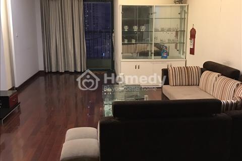 Cho thuê căn hộ 71 Nguyễn Chí Thanh, 130m2, 2 phòng ngủ, đủ đồ, 17 triệu/tháng