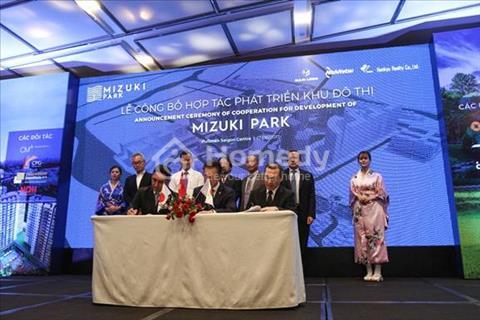 Chỉ 25 triệu/m2 sở hữu ngay căn hộ tại khu đô thị Mizuki Park tại nam Sài Gòn