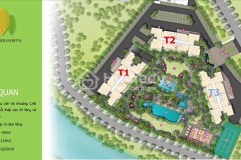 Cần tiền bán nhanh căn 80 m2 Palm Heights, tầng 29, view hồ bơi nội khu tuyệt đẹp, giá 2,9 tỷ