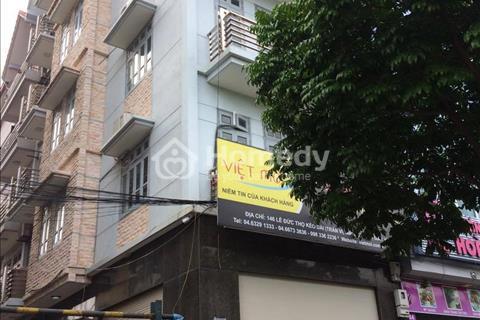 Cho thuê nhà mặt phố Trần Vĩ, 80 m2x 4,5 tầng làm văn phòng