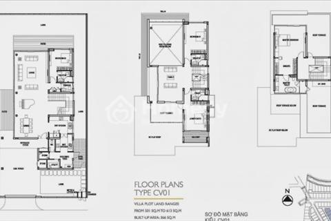 Bán biệt thự Riviera Cove, loại Clubhouse, diện tích 501 m2, xây dựng 1 trệt 2 lầu