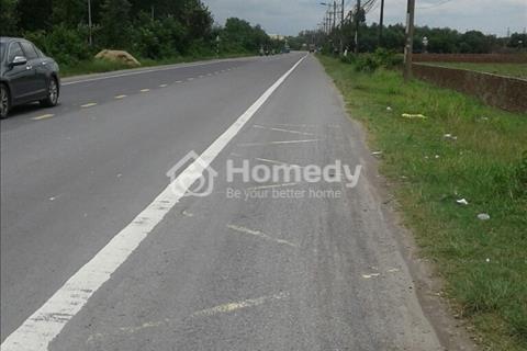 Bán đất Nhơn Trạch, giá rẻ nhất khu vực. Sổ hồng riêng, mặt tiền đường 30 m, khu dân cư hiện hữu