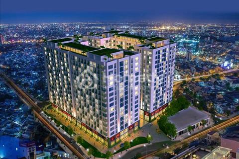 Bán căn hộ 4 mặt tiền, 2,6 tỷ/căn 74 m2, cạnh sân bay, nội thất cao cấp, sắp bàn giao nhà, nhà mới