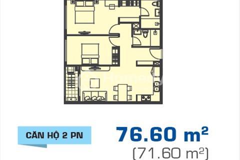 Cần bán căn hộ Sunrise Cityview, 2 phòng ngủ. Giá 2,75 tỷ, view hướng Nam