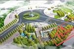 Khu cây xanh công viên trung tâm bố trí ở phía Bắc khu dân cư và nằm trên trục chính Bắc Nam, tổ chức thêm một sân thể thao mini phục cho hoạt động thể dục thể thao của cộng đồng dân cư.