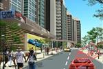 Đặc biệt, khu nhà xe kết hợp nhà điều hành giao dịch với quy mô phục vụ khoảng 500 xe ôtô và 200 xe gắn máy. Công trình sẽ đáp ứng nơi đỗ xe khi số lượng xe ôtô tăng lên trong tương lai.