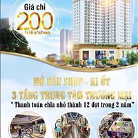 Mở bán shop thương mại - Phú Mỹ Hưng giá chỉ 200 triệu/shop