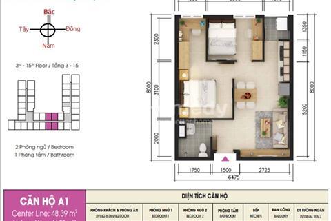 Bán căn hộ Sky 9 sắp giao nhà hoàn thiện cơ bản