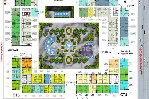 Cắt lỗ chung cư Eco Green City, 1514 (74,96 m2), giá 22 triệu/m2